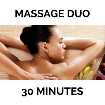 2 Massages de 30 mn au choix