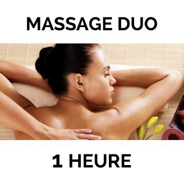 2 Massages de 60 mn au choix