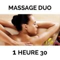 2 Massages de 1H30 au choix