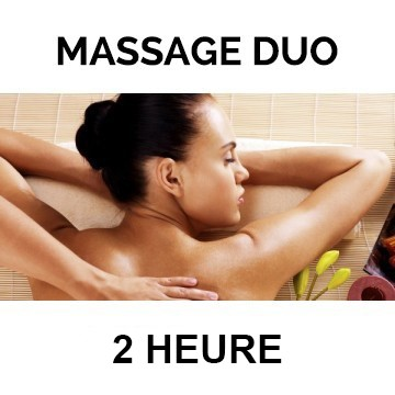 2 massages de 2h au choix ( +1h espace sensoriel offert)